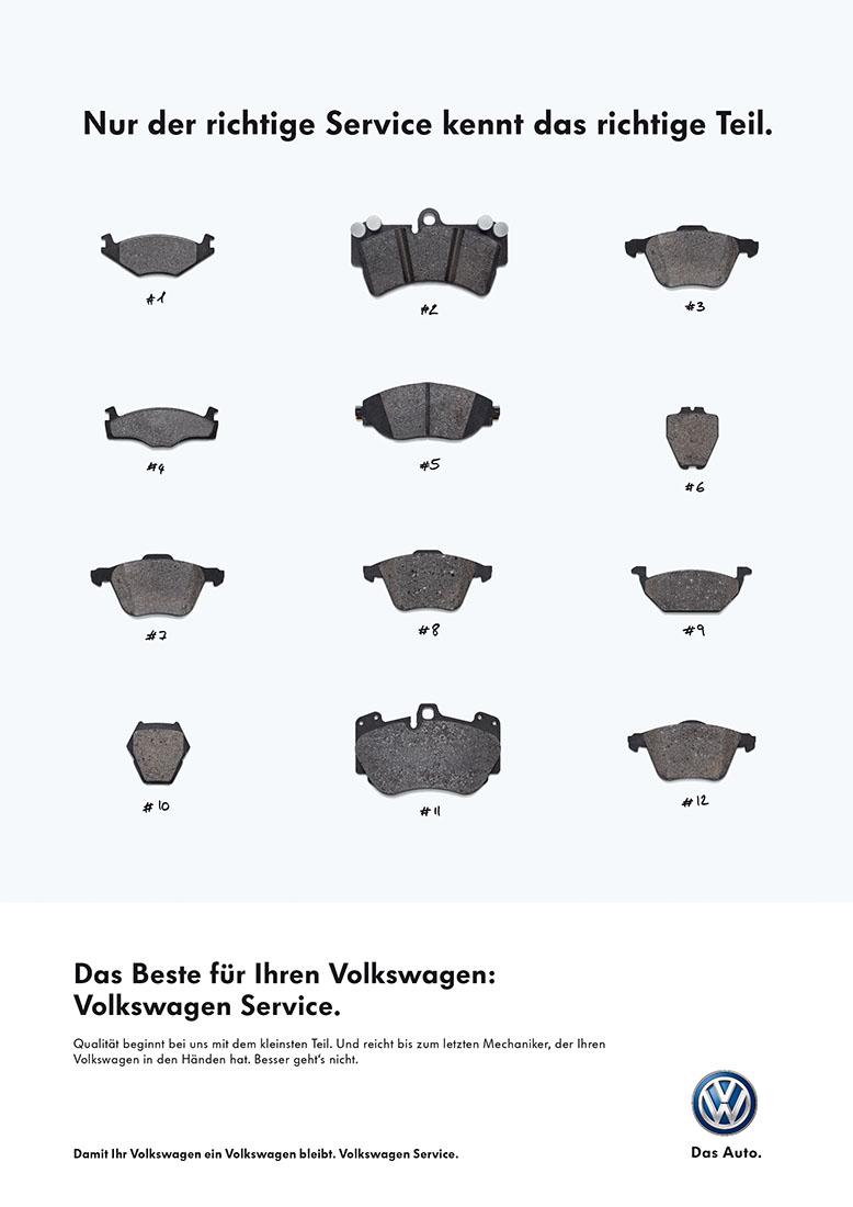 VW-BREMSBELÄGE